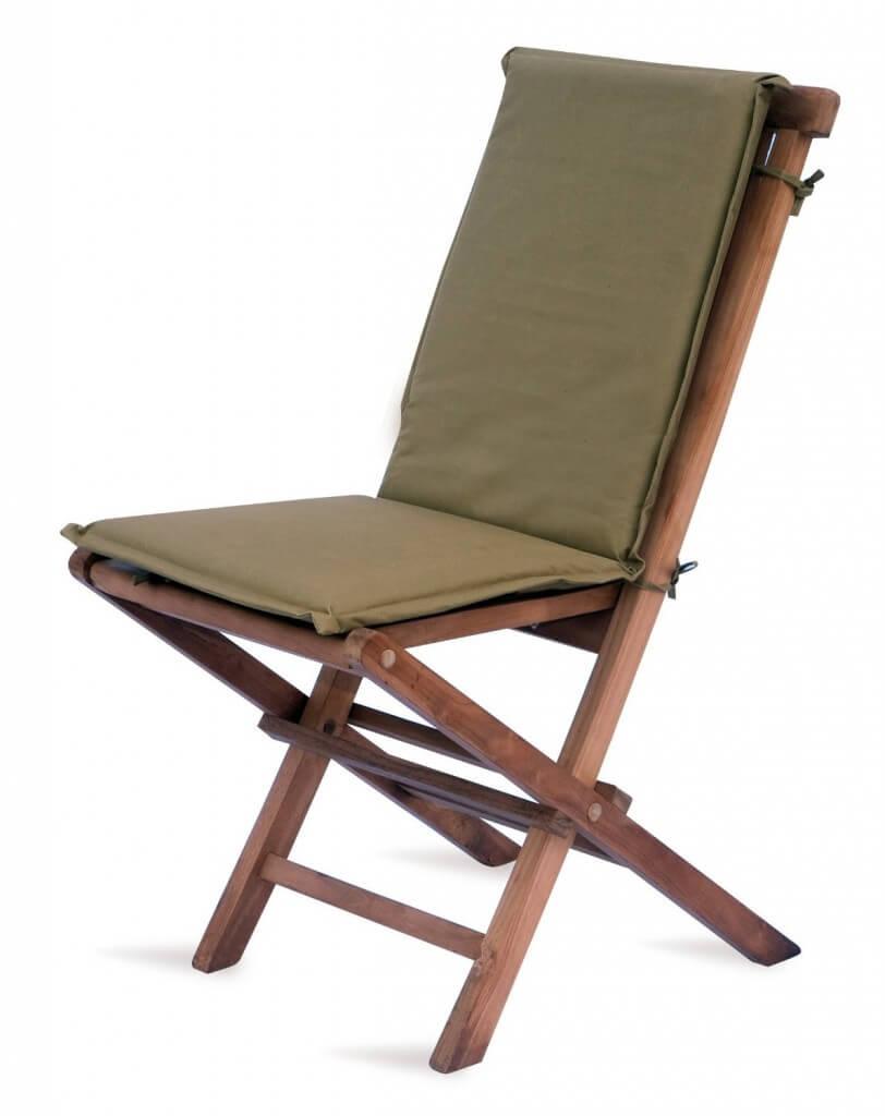 Sedie da giardino pieghevoli homehome for Cuscini x sedia