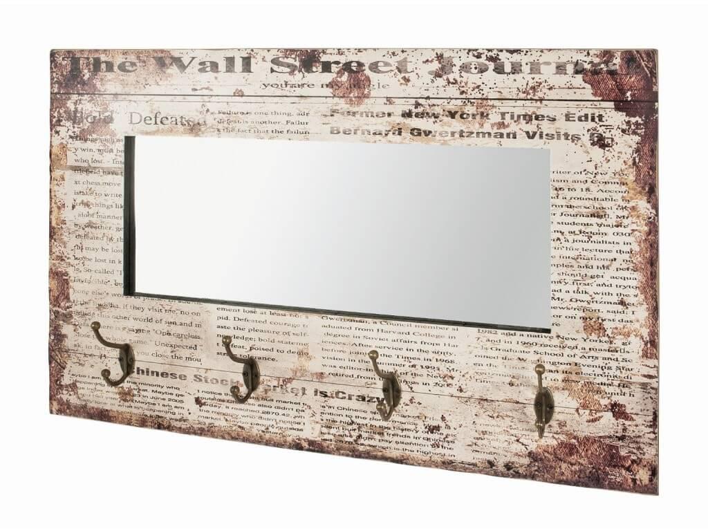 Appendiabiti da parete su specchio homehome - Specchi da parete amazon ...