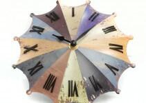 Orologio da Tavolo Moderno a forma di Ombrello