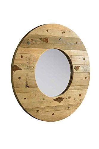 specchio tondo da parete homehome On specchio da parete rotondo