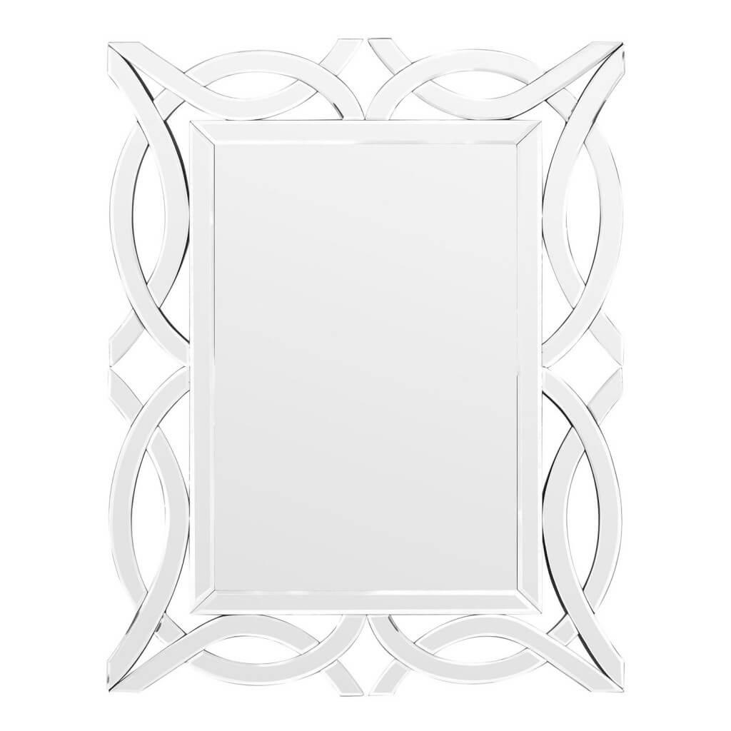 Specchio da Parete con Cornice Intrecciata