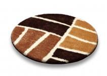 Tappeto Rotondo da Bagno modello Safari
