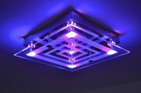 Lampada soffitto colorata