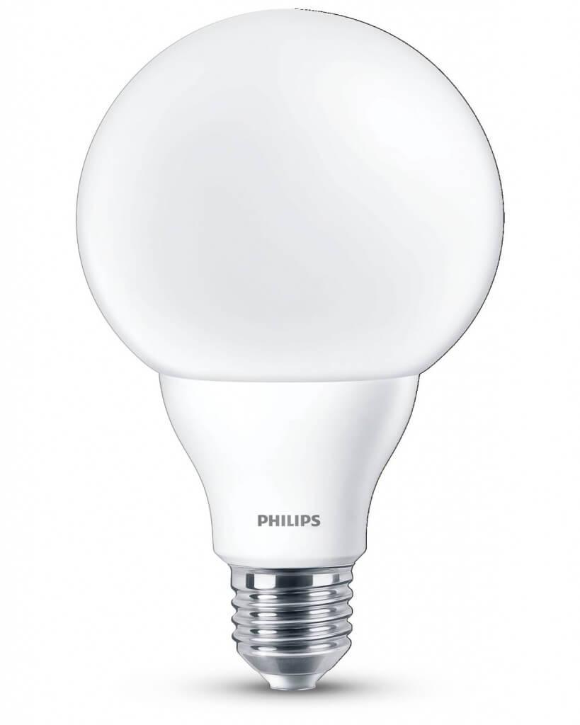 Lampadina a Led Philips E27 a Globo
