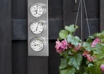 Orologio da Parete con Stazione metereologica