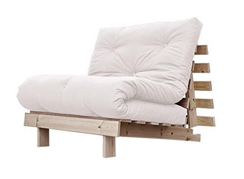 Poltrona Letto Singolo in futon