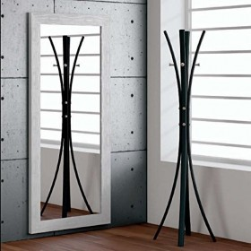 Specchi lunghi per la parete comodit e arredamento - Parete a specchio ...
