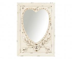 Specchi con cornice in ferro battuto vero stile classico - Specchio ovale shabby chic ...