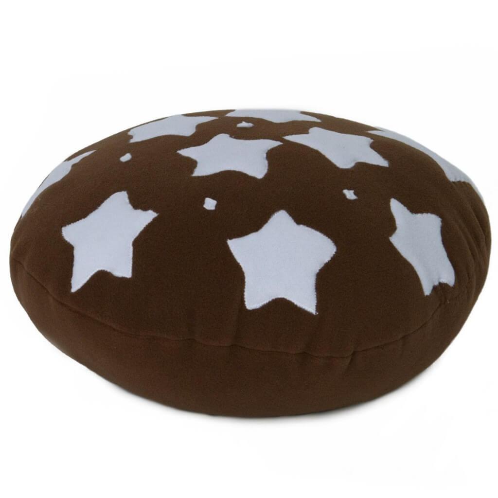 Cuscino a Biscotto Pan di Stelle