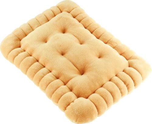 Cuscino a Biscotto