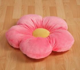 idee sfiziose: cuscini a forma di cuore e fiore - homehome