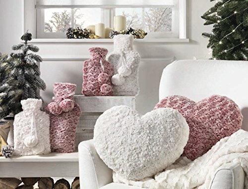 Divano Forma Rosa : Idee sfiziose: cuscini a forma di cuore e fiore homehome