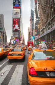 Quadro dei taxi di New York