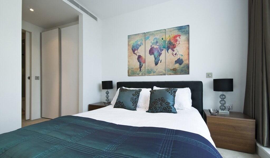 Quadro su tela per camera da letto