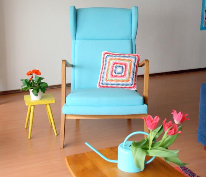 Cuscini per sedie per ogni esigenza di stile homehome for Interno per cuscini