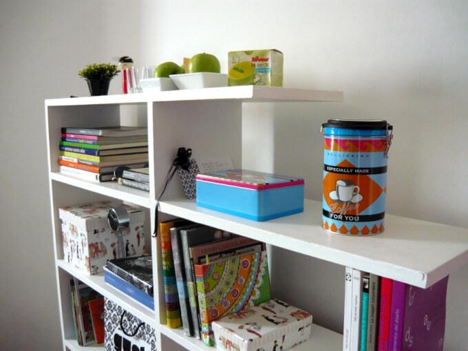 Libreria Scaffale Salvaspazio