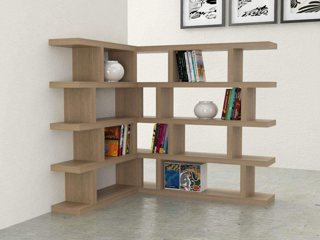 Librerie di design homehome for Librerie in legno componibili
