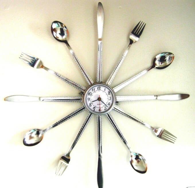 Classico Orologio per Cucina Moderna