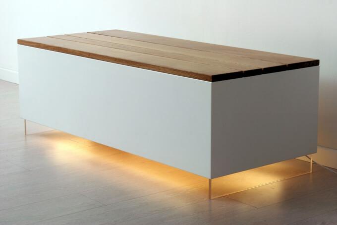 Panca Design in Legno per la Casa