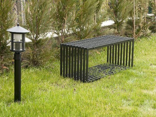 Panca da giardino moderna homehome for Panca contenitore da terrazzo
