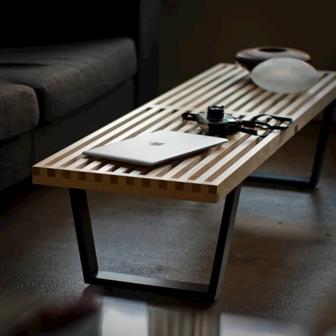 Panche in legno per interni ed esterni homehome - Panca da interno ...