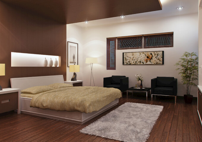 modern brown bedroom ideas quadri per da letto per ogni stile homehome 16334