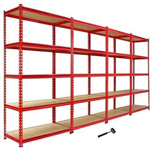 Scaffale da garage with scaffale for Garage in metallo con planimetrie abitative