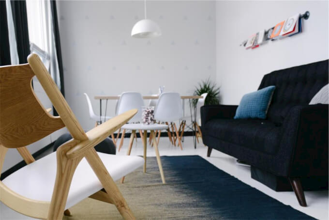 Sedie Bianche Eleganti : Sedie tra eleganza e design minimal homehome
