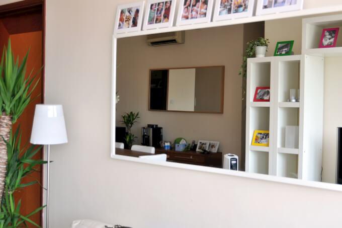 Specchio da Parete Bianco di Design