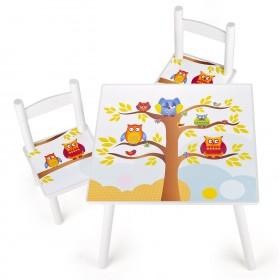 Tavolino e Sedie per Bimbo