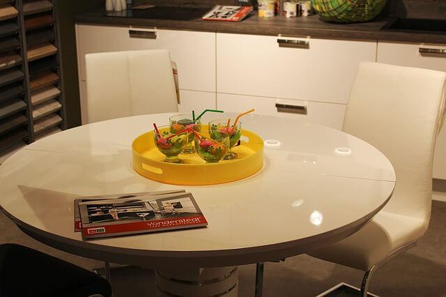 Tavoli rotondi allungabili homehome for Tavolo bianco rotondo allungabile