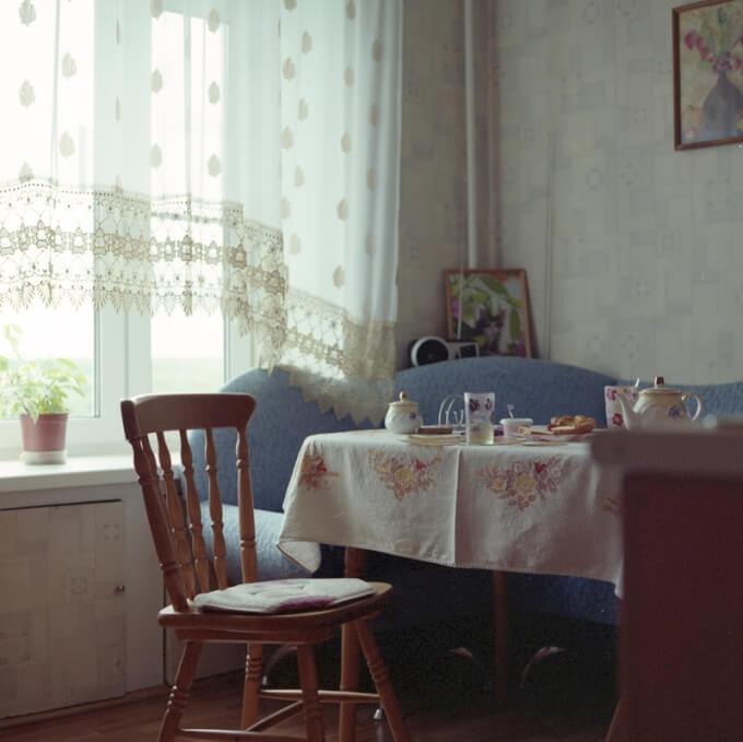 Tenda per la Cucina della Casa