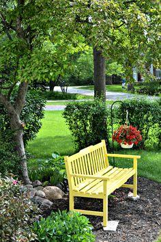 Panchine Da Giardino Colorate.Panche Da Giardino L Eleganza Dell Arredo In Giardino Homehome