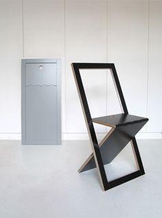 Sedie pieghevoli soluzioni salvaspazio di stile homehome for Sedie industrial design