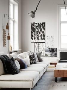 Cuscini per divani alla ricerca del comfort homehome - Cuscino per divano ...