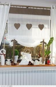 Tende da cucina pratiche ed eleganti homehome - Tende per cucina rustica ...